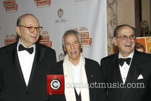 Neil Simon, Burt Bacharach and Hal David  Opening night after party for the Broadway musical 'Promises, Promises' held at...