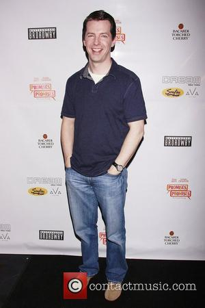 Sean Hayes CD release party for the new Broadway cast recording of 'Promises, Promises' held at the AVA Lounge in...