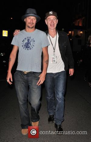 Kid Rock aka Robert Ritchie and John McEnroe leaving Punch Bowl pub in Mayfair London, England - 22.06.10