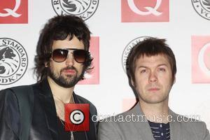 Serge Pizzorno and Tom Meighan The Q Awards 2010 - Arrivals  London, England - 25.10.10