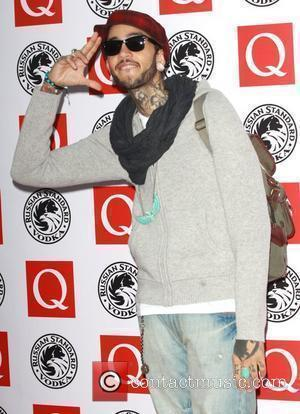 Travie McCoy The Q Awards 2010 - Arrivals  London, England - 25.10.10