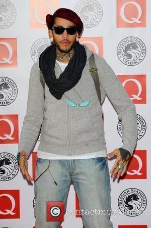 Travie McCoy,  The Q Awards 2010 held at the Grosvenor House -Arrivals. London, England - 25.10.10
