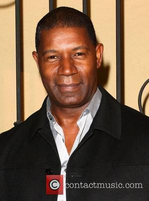 Dennis Haysbert Q By Pasquale Glass Shoe debut launch party held at the Q by Pasquale Studio Los Angeles, California...