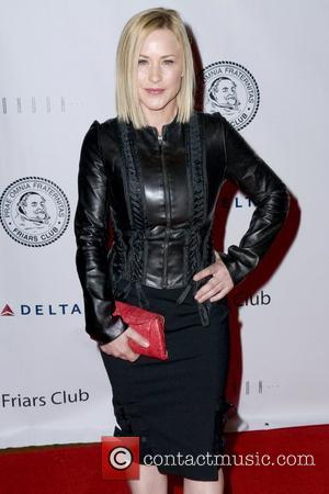 Patricia Arquette Friars Club roast of Quentin Tarantino, held at The New York Hilton - Arrivals New York City, USA...
