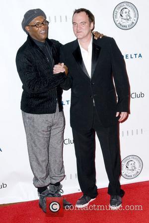 Samuel L Jackson and Quentin Tarantino