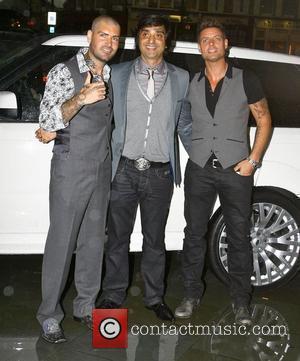 Shane Lynch, Duffy and Keith Duffy