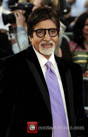 Amitabh Bachchan Raavan - UK film premiere held at the BFI Southbank -arrivals. London, England - 16.06.10