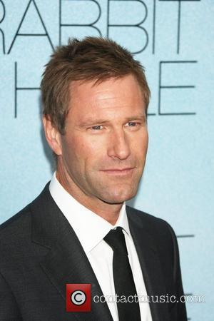 Aaron Eckhart New York premiere of 'Rabbit Hole' held at the Paris Theatre - Arrivals New York City, USA -...