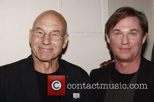 Patrick Stewart and Richard Thomas