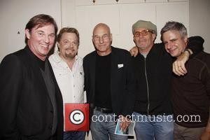 Richard Thomas, Eddie Izzard and Patrick Stewart