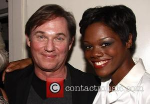 Richard Thomas and Afton C. Williamson Closing night of the Broadway production of 'Race' at the Barrymore Theatre - backstage...