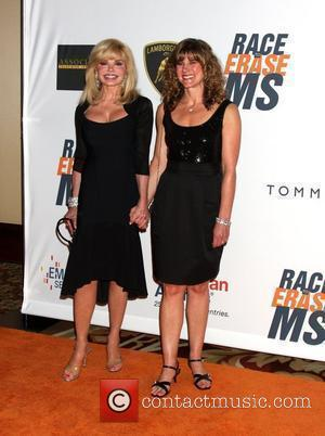 Loni Anderson and her daughter Deidra Hoffman The 17th Annual Race To Erase MS held at The Hyatt Regency Century...