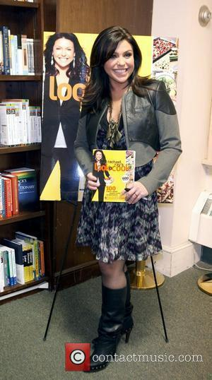 TV personality Rachael Ray promoting her new book 'Look + Cook' at Barnes & Noble New York City, USA -...
