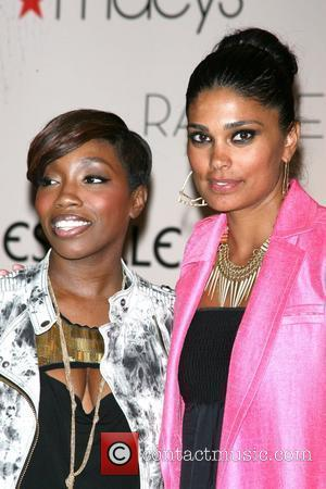 Singer Estelle, Estelle and Rachel Roy