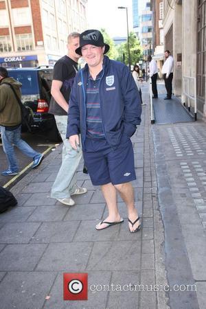 Ricky Hatton outside the BBC Radio 1 studios London, England - 03.06.10