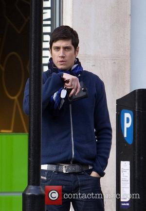 Vernon Kay arrives at the BBC Radio 1 studios ahead of his morning show London, England - 20.02.10