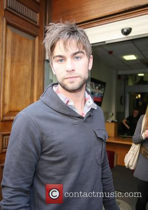 Chace Crawford leaving the BBC Radio 1 studios London, England - 15.04.10
