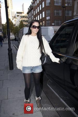 Tula Contosavlos aka Tulisa of N-Dubz  Celebrities outside the BBC Radio One studios.  London, England - 26.11.10