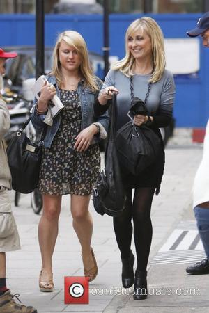 Fiona Phillips (R) is seen leaving BBC radio 2  London, England - 02.09.10