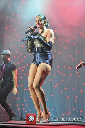 Alesha Dixon performing at Radio City 96.7 LIVE event held at Liverpool Echo Arena Liverpool, England - 15.08.10