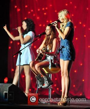 Rochelle Wiseman, Una Healy and Mollie King Of The Saturdays