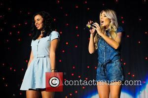 Rochelle Wiseman and Mollie King Of The Saturdays