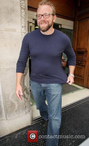 Joe Carnahan outside the BBC Radio One studios London, England - 28.07.10