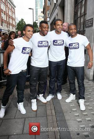 Aston Merrygold, Jls and Jonathan Gill