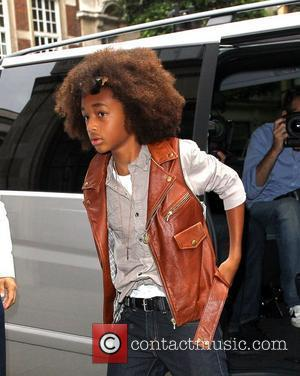 Jaden Smith outside the BBC Radio One studios to promote his new movie The Karate Kid London, England - 15.07.10