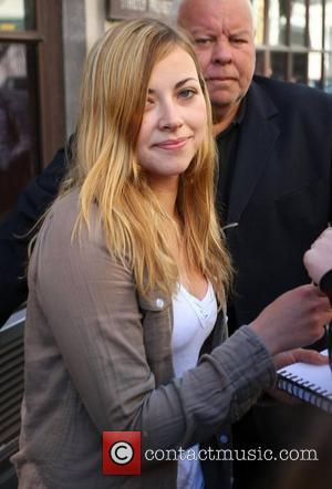 Charlotte Church and Leaves