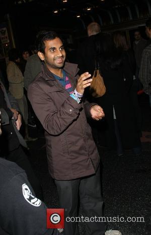 Aziz Ansari oustide the Radiohead charity concert at the Henry Fonda Theatre in benefit of the Haiti earthquake Los Angeles,...