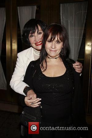 Chita Rivera and her daughter Lisa Mordente at the opening night of the Broadway production of 'Rain - A Tribute...