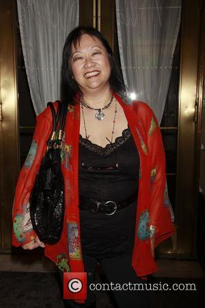 May Pang at the opening night of the Broadway production of 'Rain - A Tribute to The Beatles' at the...