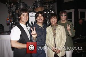 Sir Paul Mccartney, George Harrison, John Lennon, Neil Simon and Ringo Starr