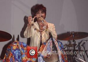 Ralph Castelli as Ringo Starr Opening night of the Broadway production of 'Rain - A Tribute to The Beatles' at...
