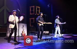 Ringo Starr, George Harrison, John Lennon and Neil Simon