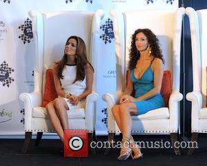 Eva Longoria and Sofia Milos