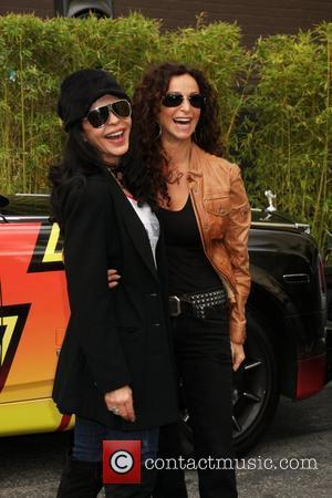 Maria Conchita Alonso and Sofia Milosat at the 'Rally for Kids with Cancer Scavenger Hunt 2010' at Roosevelt Hotel Los...