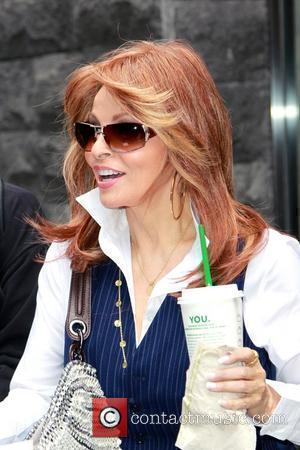 Raquel Welch departs her hotel and heads to CNN New York City, USA - 31.03.10