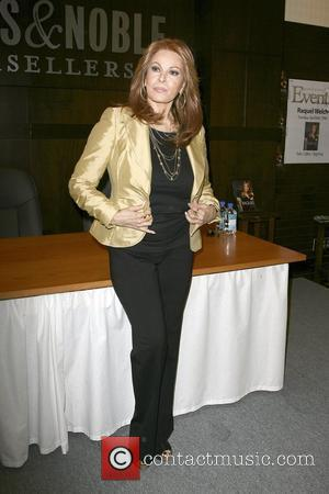 Raquel Welch signs copies of her new book 'Raquel: Beyond The Cleavage' at Barnes & Noble at The Grove Los...
