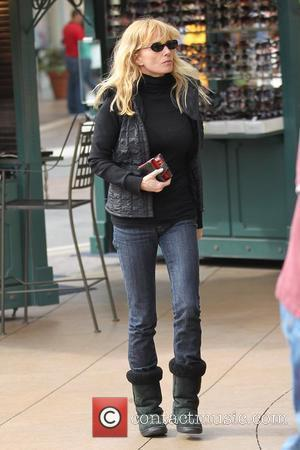 Rebecca De Mornay shopping at The Grove Los Angeles, California - 25.10.10