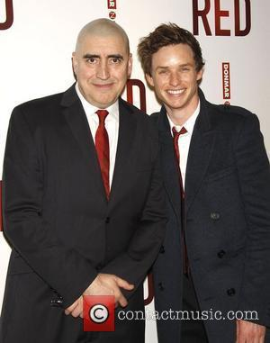Alfred Molina and Eddie Redmayne