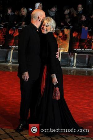 Bruce Willis and Helen Mirren