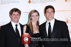 Matthew Reeve, Alexandra Reeve, Dana Reeve and Will Reeve