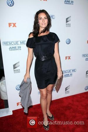 Laura Benanti  'Rescue Me' Season 6 premiere at AMC Theatres Empire 25 in Times Square New York City, USA...