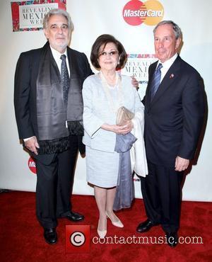 Placido Domingo, Dwayne Johnson and Michael Bloomberg