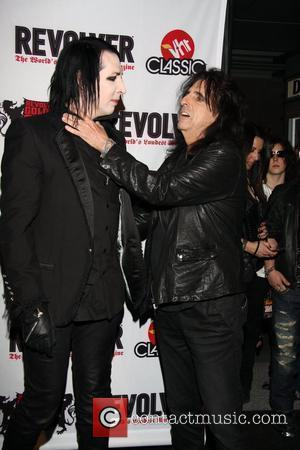 Marilyn Manson and Alice Cooper