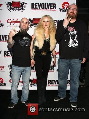 Scott Ian, Pearl Aday and Brian Posehn
