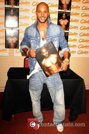 Ricky Whittle signs copies of his Calendar at Clinton Cards the Trafford Centre. Manchester, England - 11.09.10