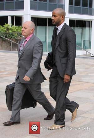 Ricky Whittle  arriving at Liverpool Crown Court for day two of his trial for dangerous driving after he allegedly...